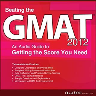 Beating the GMAT 2012 audiobook cover art