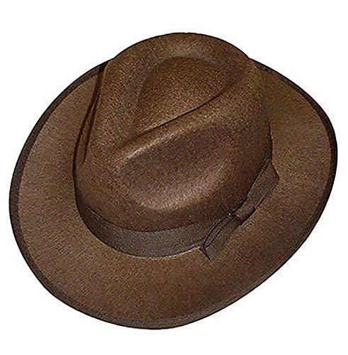 Classy Fashion Unisex Freddy Krüger Strick Pullover Horror Halloween Kostüm Top Kostüm Set & Zubehör Gr. One size, Brown Hat