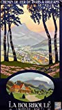 La bourball Auvergne Poster – Format 50 x 70 cm –