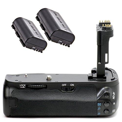Impulsfoto Meike - Empuñadura de batería para Canon EOS 6D, similar a...