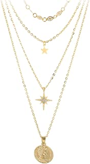 XianXi Simple And Stylish Alloy Love Shell Pendant Multi-Layer Women's Necklace