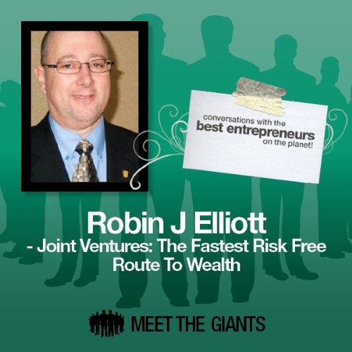 Robin J. Elliott - Joint Ventures: The Fastest Risk Free Route to Wealth audiobook cover art