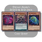 Yu-Gi-Oh! ARC-V - Declan Akaba's Complete D/D & D/D/D Pendulum Deck