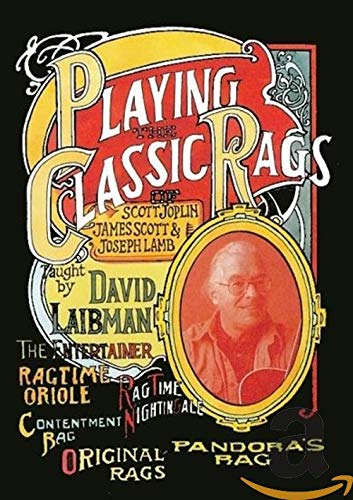 David Laibman - Playing the Classic Rags of Scott Joplin, James Scott & Joseph Lamb [2 DVDs]
