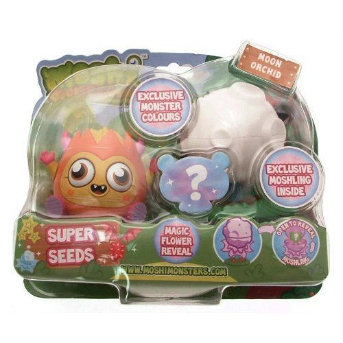 Moshi Monsters Super Seeds Moon Orchid Super-Samen - Mond Orchidee - Diavlo