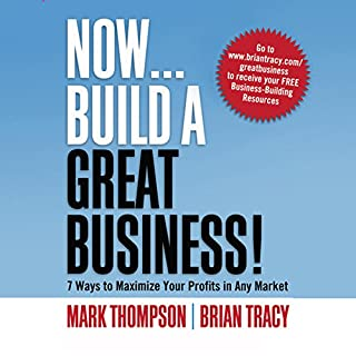 Now, Build a Great Business cover art