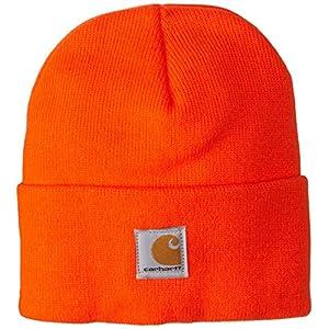 Carhartt Kids' Acrylic Watch Hat, Brite Orange, Toddler