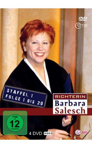 Richterin Barbara Salesch, Staffel 1, Folge 01-20 (4 DVDs)