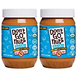 Don't Go Nuts Roasted Soybean Spread, Sea Salted, 2 Count, Nut-Free Non GMO Organic (Grocery)
