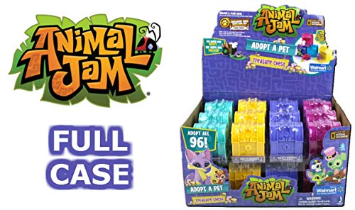 Animal Jam Adopt a Pet Treasure Chest Sealed Mystery Box of 24 Chests Game Code