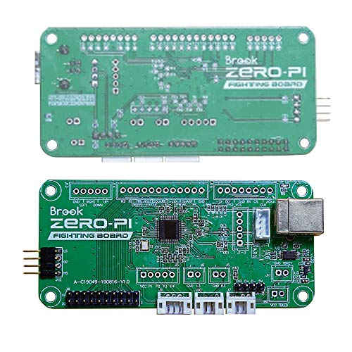 Mcbazel Brook Zero PI Fighting Board para PS / PS2 / PS3 / Retro Gaming Emulator Support LED and Turbo Function