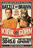 RTOUTS Star Trek Kirk Vs Gorn Metall Retro Blechschild Antik Plakette Poster Wohnzimmer Bar Pub Home Vintage Aluminium für Wanddekoration 20,3 x 30,5 cm