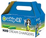 Whip-it! SV-6100: Cream Chargers 100-Pack, Small, White