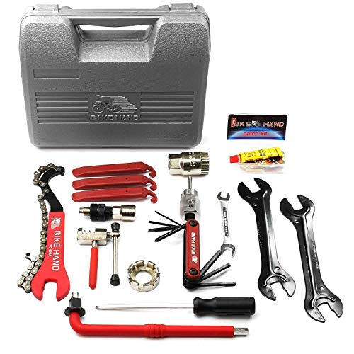 BIKEHAND Bike Bicycle Repair Tools Tool Maintenance Kit Set