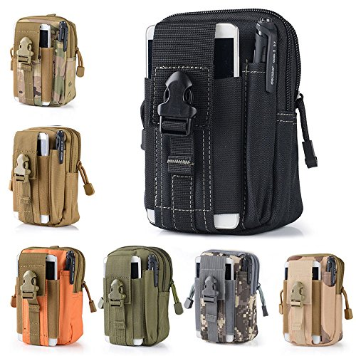 Efanr Universal Outdoor Tactical Holster Military Molle Hip Waist Belt Bag Wallet Pouch Purse Phone...