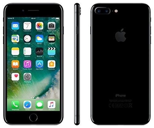 Apple iPhone 7 Plus 256GB - Pech Schwarz - Entriegelte (Generalüberholt)