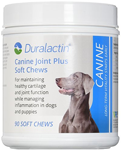 Duralactin Canine Joint Plus Soft Chews Triple Strength - 90 Soft Chews