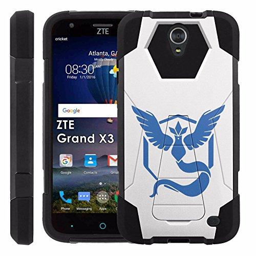 ZTE [Uhura Grand X3] Z959 Proton Guard Dual Layer Phone Case - Team Mystic