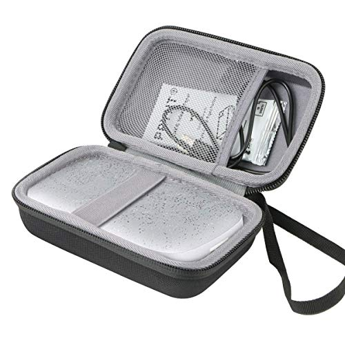 co2CREA Duro Viajar Caja Estuche Funda para HP Sprocket 200 Impresora fotográfica(Caja...