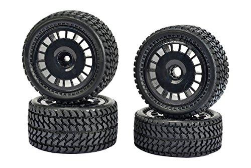 Carson 500900134 - All Terrain 2WD Reifen-Set 4, Zubehör