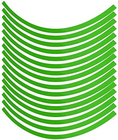 Car Motorcycel Wheel Reflective Pinstripe Decal Tape Sticker Decoration Film Sticker Fluorescent product image