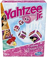 Hasbro Gaming Yahtzee Jr.: Disney Princess Edition Board Game for Kids Ages 4 and Up, for 2-4 Players, Counting and...