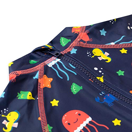 Harry Bear Bañador para Niño Vida Marina Azul 5-6 Años