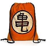 style3 Goku Roshis Turtle School Rucksack Tasche Turnbeutel Sport Jute Beutel, Rucksack Farbe:Motiv...