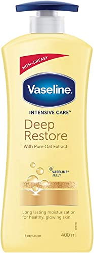 Vaseline Intensive Care Deep Restore Body Lotion, 400 ml