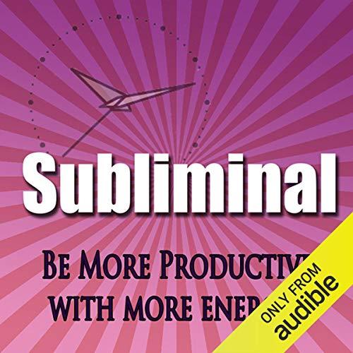 Couverture de Be More Productive Subliminal