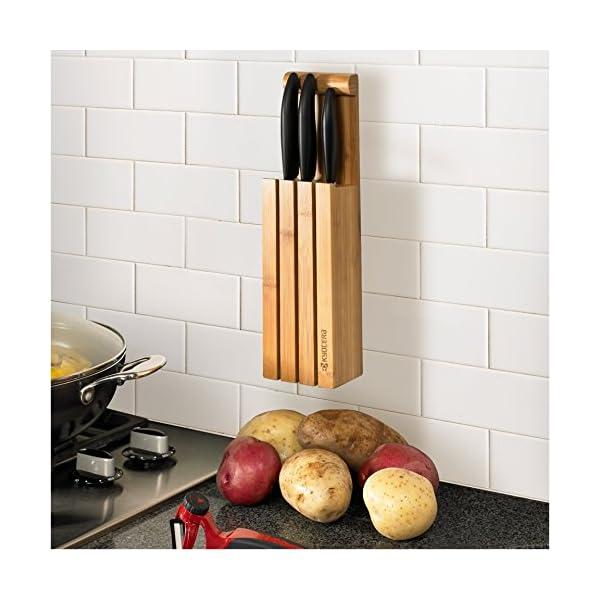 Kyocera KNIFE BLOCK - Bloque de bambú para 4 cuchillos
