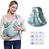Cubierta de lactancia Materna Ajustable Cubre con Pañuelo de Algodón para la Privacidad Completa de la Alimentación Cubierta de Protección