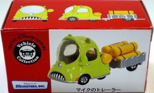 【東京ディズニーリゾート マイク のトレーラー トミカ】 TDR Disney Vehicle Collection Mike's Traile...
