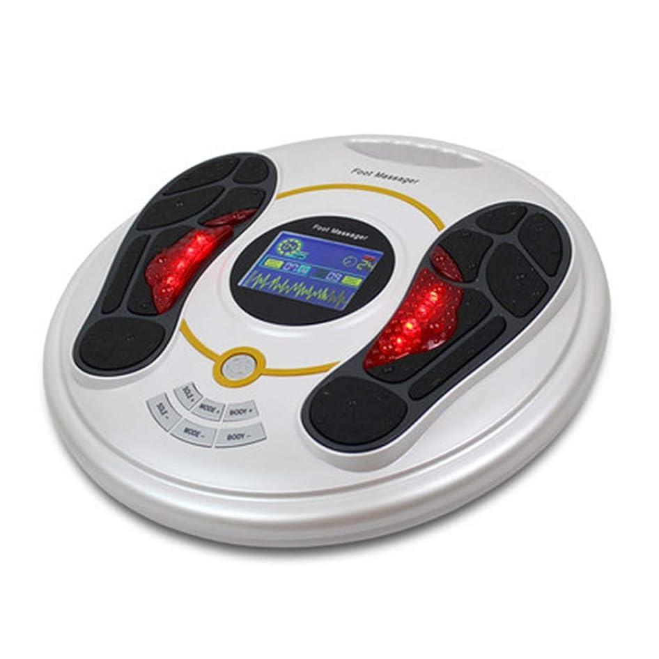 ええ抵抗抵抗電磁石の足のマッサージャー、指圧ボディマッサージャーの循環のマッサージャーは血循環療法の苦痛救助を刺激するために後押しします。, white