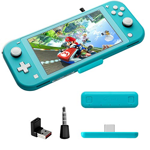 GULIkit Route Air Pro Wireless Bluetooth Audio Adapter for The Nintendo SwitchSwitch Lite Blue