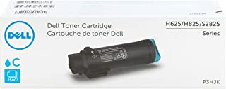 Dell P3HJK High Yield Cyan Toner Cartridge for H625, H825, S2825
