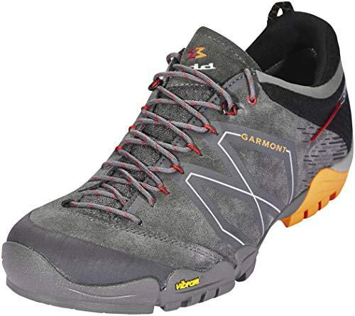 Garmont Men's Sticky Stone GTX Traveling Hiking Shoes, Dark Grey/Orange, Size 10.5