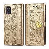 Oihxse Mignon Case Compatible pour Samsung Galaxy S10E Coque Housse Étui Cuir PU Portefeuille avec...