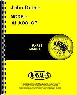 John Deere AI AOS GP Tractor Parts Manual