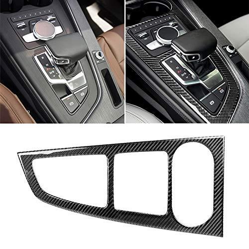 QINGJIA Panel del Coche de Fibra de Carbono Engranaje Posición de la Etiqueta engomada FOR For Audi A4L - / - A5 / A4 2016- B9 Duradero
