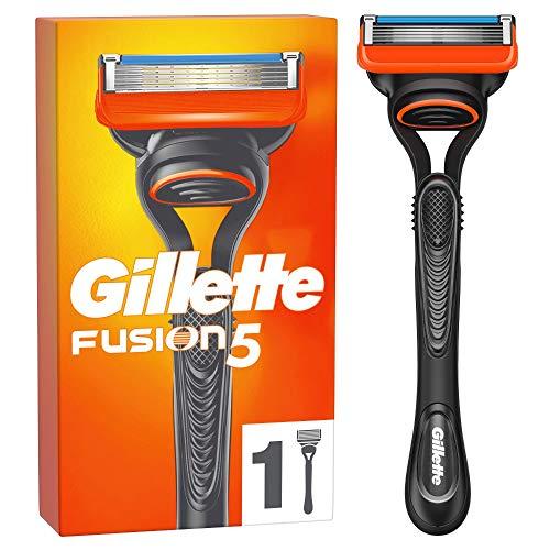Gillette Fusion 5 Rasierer Herren mit 1 Rasierklinge mit Anti-Irritations-Klingen für bis zu 20 Rasuren pro Rasierklinge, aktuelle Version