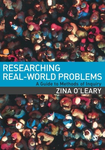 Researching Real World Problems A Guide To Methods Of Inquiry