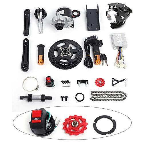 Kit di conversione per motore elettrico da 36 V, montaggio centrale, adatto per corsa a media velocità, mountain bike, motore, montaggio centrale, kit completo