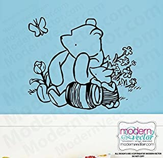 Classic Winnie the Pooh Quote Vinyl Wall Decal