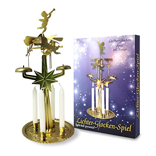 AHZ RMH GmbH 950801 Lichter Glockenspiel mit 4 Kerzen