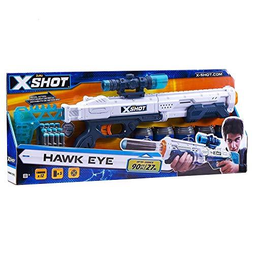 X-Shot ZURU – 36189 Hawk Eye Juguete Blaster 12