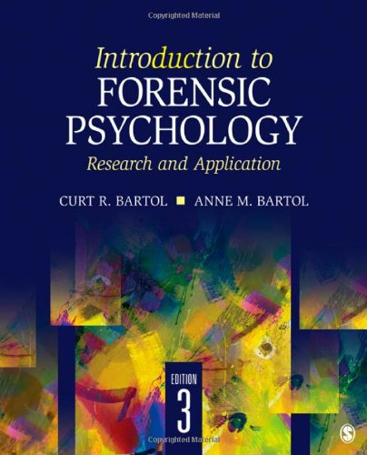 Introduction to Forensic Psychology: Research and...