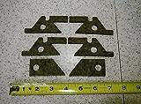 Bridgeport Mill Part, J Head Milling Machine SADDLE & KNEE FELT WIPER KIT 6 pieces M1601