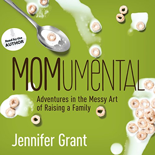 MOMumental audiobook cover art