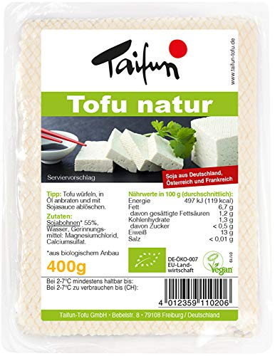 Taifun Bio Tofu natur 400g (6 x 400 gr)